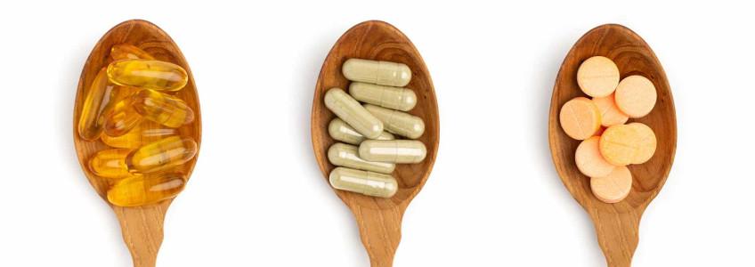 cápsulas de vitamina d em colher